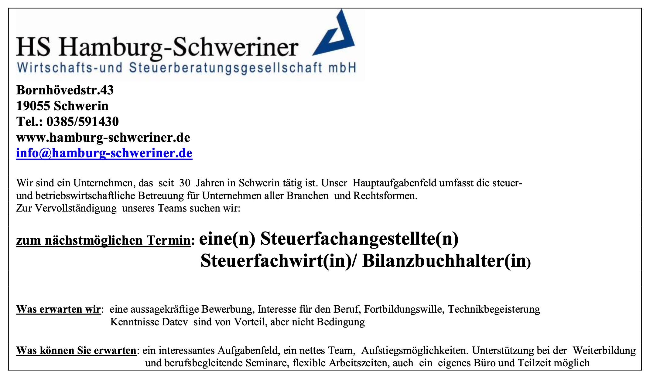 Top Steuerberater in Schwerin